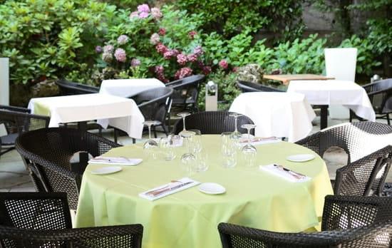 Restaurant la Renaissance  - notre terrasse -
