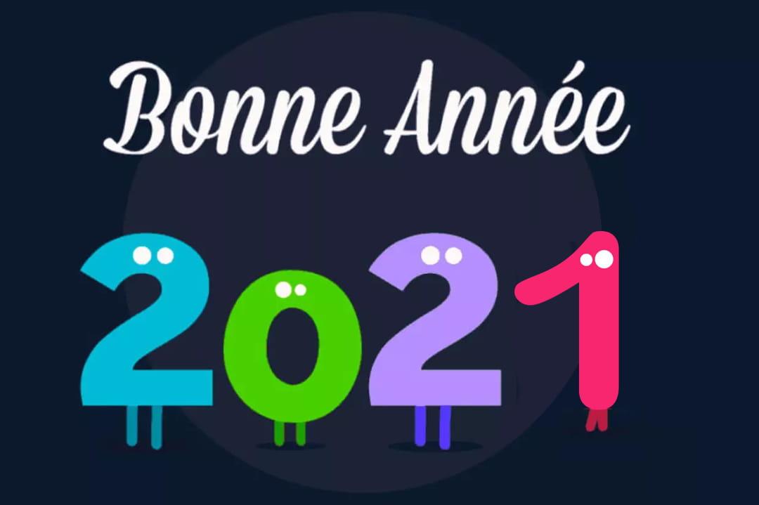 Bonne année : textes, SMS, images et gifs pour vos voeux 2021