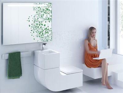 La Salle De Bain Innovante Chez Roca - Salle de bain high tech