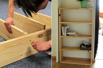 Fabriquer une étagère sur mesure