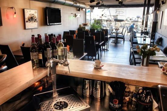 Le Spot  - Vue du bar du restaurant Le Spot -