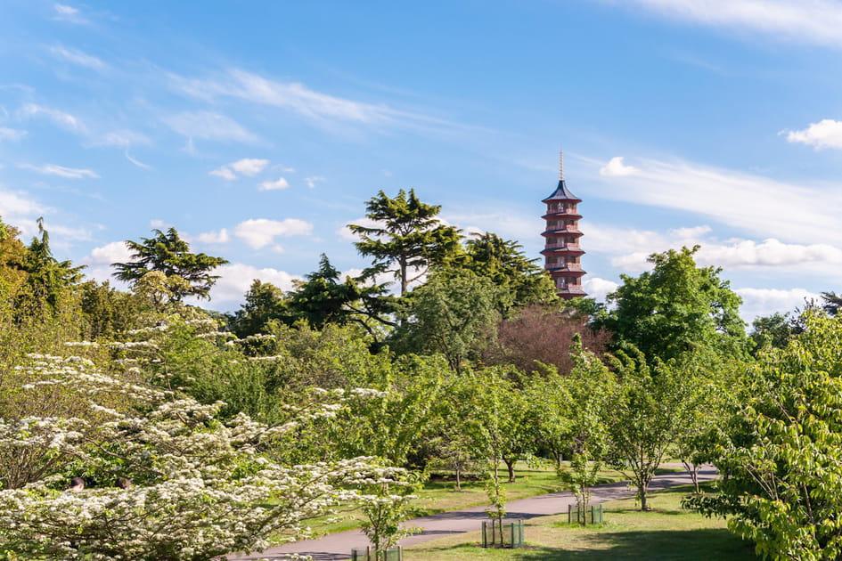 Les jardins royaux de Kew au Royaume-Uni