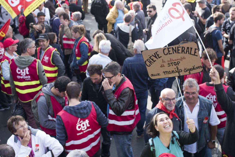 France : 4e journée d'action contre la réforme du Code du travail