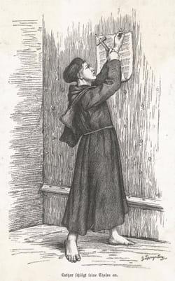 95 thèses de Martin Luther
