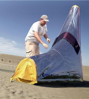 une tente idéale pour un séjour dans le désert.