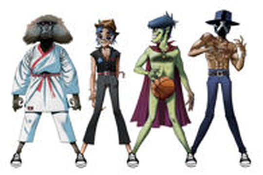 "Quand Converse s'associe à Gorillaz pour son projet ""Three Artists. One song"""