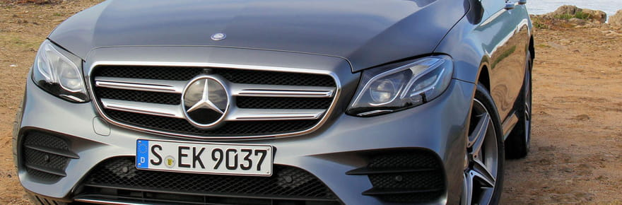 Essai Mercedes Classe E : plus forte que K2000 ?