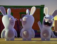 Les lapins crétins : invasion : Crétin pingouin