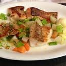 Plat : L'Imprevu  - Panaché de poissons et ses légumes croquants -