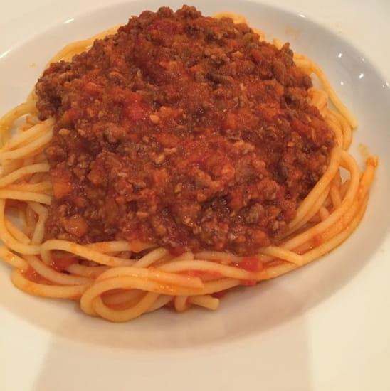 Plat : Le Bistrot Gourmand  - Bolognaise -