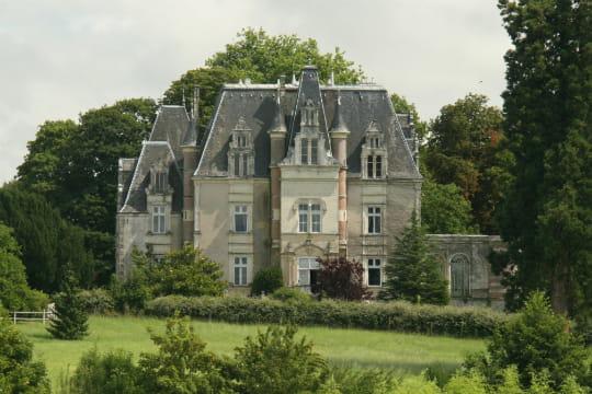Un élégant château en Mayenne