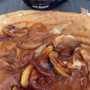 Dessert : Crêperie du Hameau  - Crêpe Gravel . Excellent -