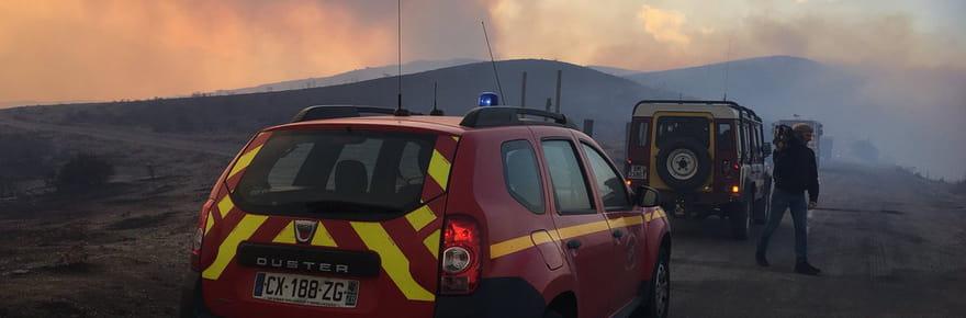 Corse (Balagne): les impressionnantes images des incendies