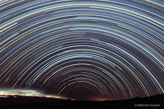 Traînées d'étoiles
