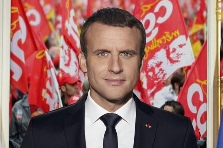 Portrait officiel d'Emmanuel Macron : le top 10 des détournements