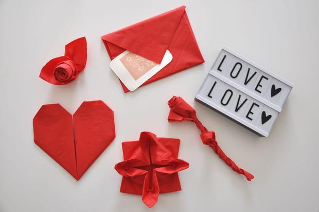 5 Pliages De Serviettes Ultra Faciles Pour La Saint Valentin