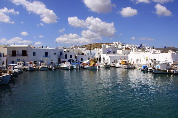 Naoussa, dans l'archipel des Cyclades