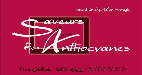 Saveur et anthocyanes  - carte de visite -   © Charrettesarl