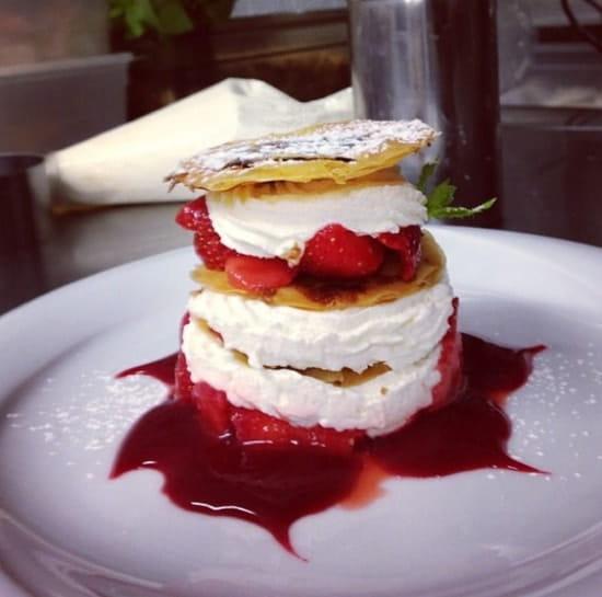 Dessert : Oscar  - Délicieux ! -