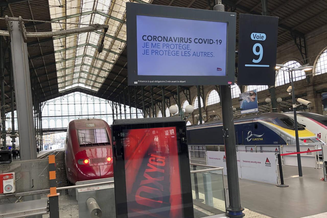 SNCF: une possible réduction du trafic des trains face au coronavirus