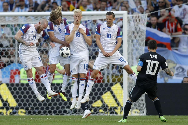 L'Islande crée la sensation en accrochant l'Argentine