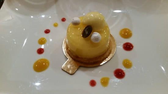 Dessert : Restaurant Le Lumière - Hôtel Scribe Paris  - Citron meringué -