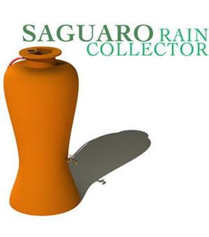 ce dispositif récolte l'eau de pluie et permet d'arroser les plantes de façon