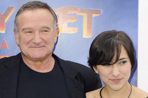 Zelda Williams et Robin Williams