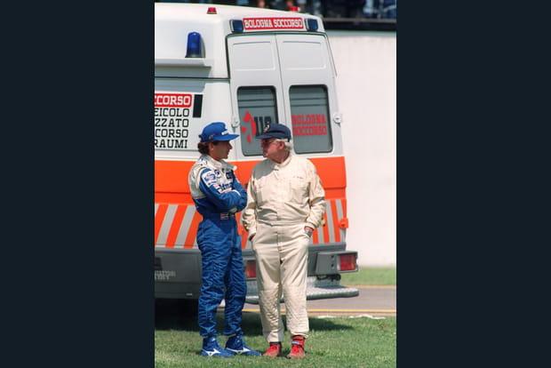 Samedi 30avril, dans la soirée: Senna inquiet