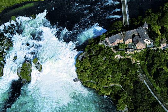 Les cascades du Rhin