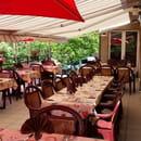Restaurant : Au Relais de la Truyère  - Terrasse -
