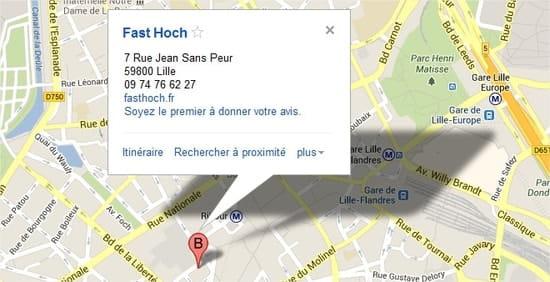 Fast Hoch - Art Food Gallery  - Map Fast Hoch 2 -