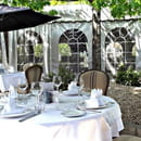 Les Jardins du Pastel  - Terrasse du restaurant Terre de Pastel -   © Terre de Pastel