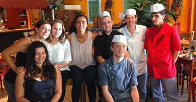 Restaurant : Dolce Vita Anglet  - L'équipe -   © Dolce Vita Anglet
