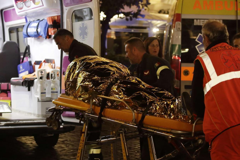 Italie: Une vingtaine de blessés dans l'écroulement d'un escalator à Rome