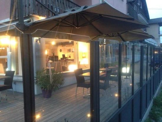 Restaurant : La Douce Folie  - Belle terrasse -