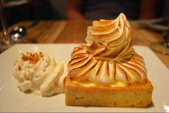 Dessert : Les Garçons  - Tarte citron meringuée  -