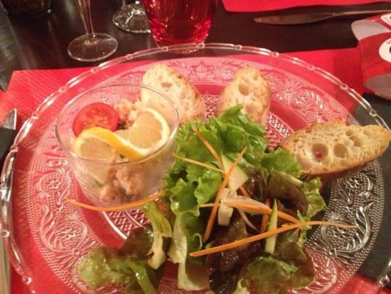 Entrée : Le Café Foutu  - Rilette de saumons maisons. Un régal  -