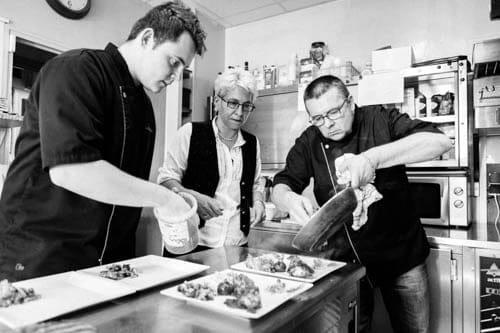 Restaurant : Le Beauséjour  - cuisine -   © 6