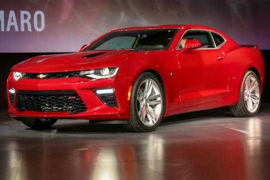 Chevrolet: laCamaro6 enfin dévoilée
