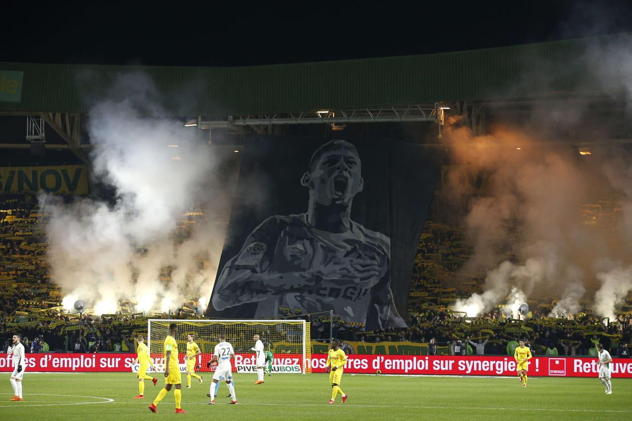 EN IMAGES - L'hommage de Nantes et Cardiff à Emiliano Sala