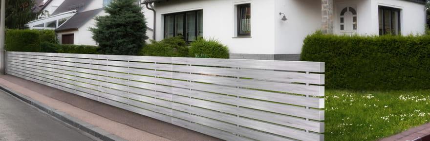 Bricolage conseils astuces fiches pratiques - Cloturer son jardin ...