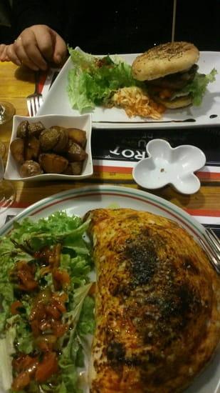 Plat : L'Italien  - Super calzone et burgers maison -