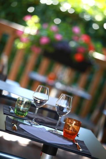 La Gourmandière Restaurant Olivier Samson  - La terrasse du Bistr'Aurélia -   © Hélène Baron