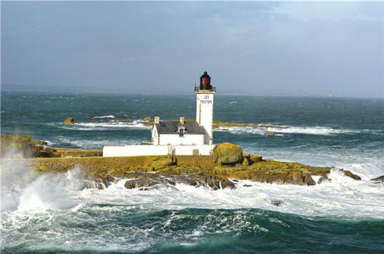 Le phare de l'île aux moutons