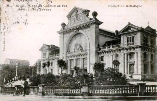 Le Gambetta  - la gare du sud, Future nouvelle mairie -   © Année 1950