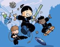 Shuriken School : Le maître des ténèbres