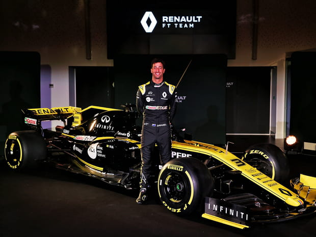 La nouvelle F1de Renault, la RS19, en images