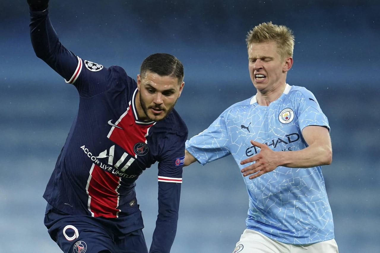 Manchester City - PSG: notes, résumé… Paris ny aura crû que 15minutes