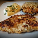 The Brunch  - Tout BIO, tout Normand : Cordon bleu de poulet fermier, omelette aux herbes et crumble de légumes -   © Caracal Communication